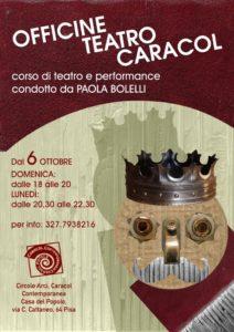 Officine Teatro Caracol - Corso di Teatro e Performance @ Caracol Contemporanea Casa del Popolo