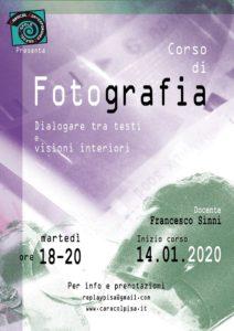 Corso di fotografia-Dialogare tra testi e visioni interiori @ Caracol Contemporanea Casa del Popolo